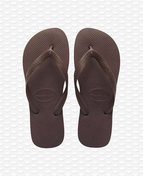Havaianas Top Flip Flops, Dark Brown
