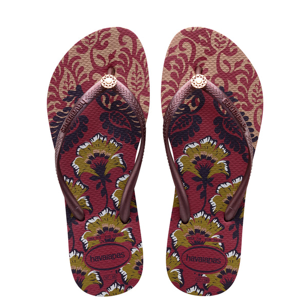 Havaianas - Slim Royal (Beetroot)