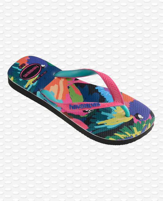 Havaianas Top Fashion Flip Flops, Black