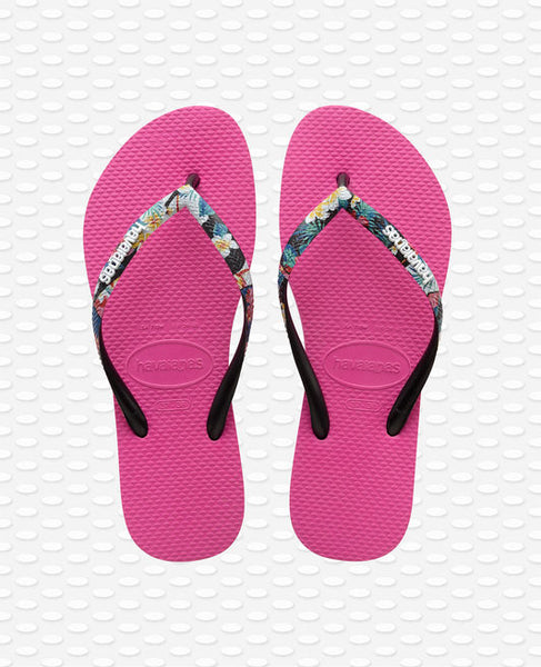 Havaianas Slim Strapped Flip Flops, Hollywood Rose