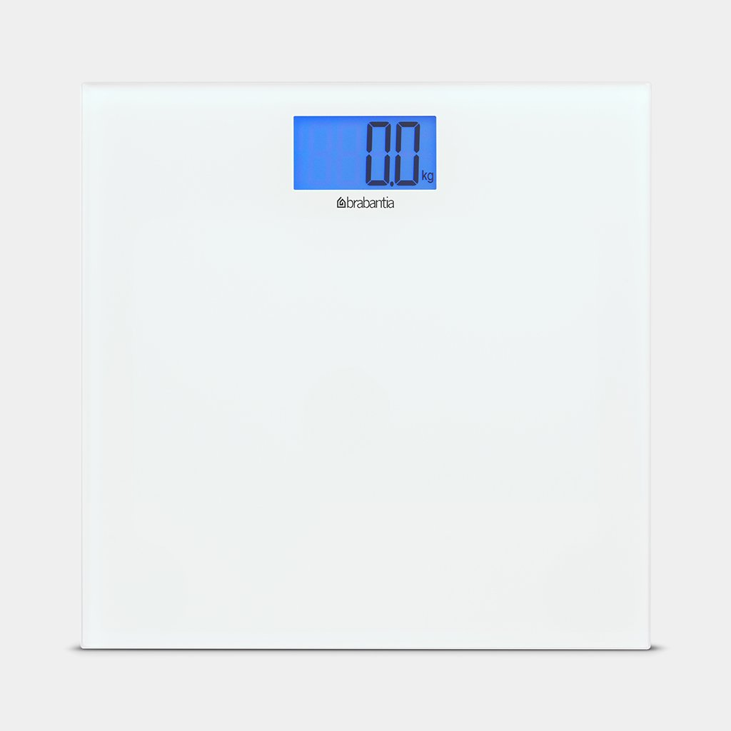 Bathroom Scale, White by Brabantia