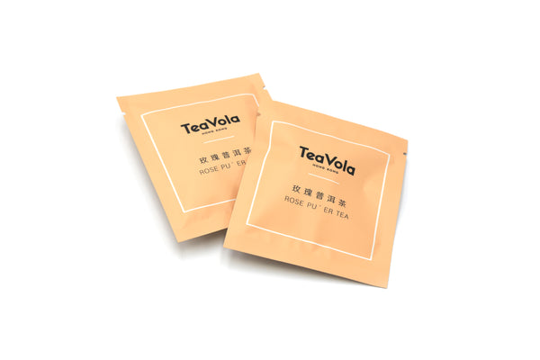 TEAVOLA Rose Pu'er Tea 12-pack set