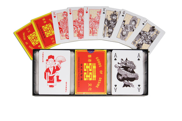 Playing cards - 'Double Happiness'