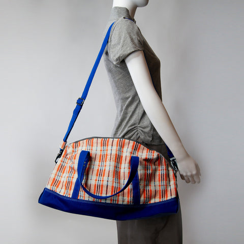 'Amah' red white and blue holdall - Goods of Desire