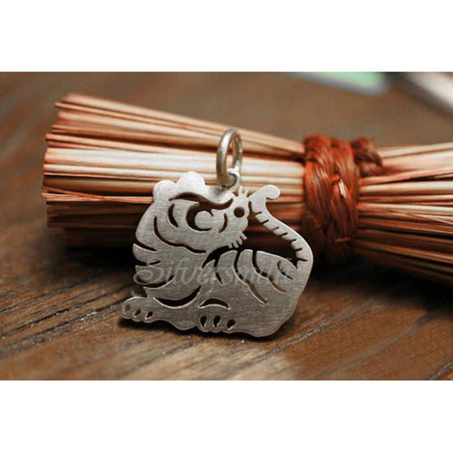 Chinese Zodiac Tiger Charm by Silversmith