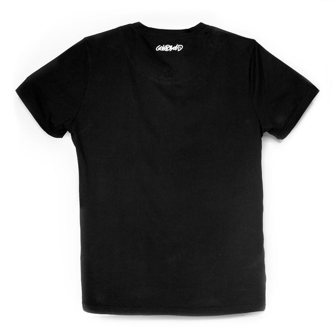 'Made in Italy by Chinese' T-shirt (Black)