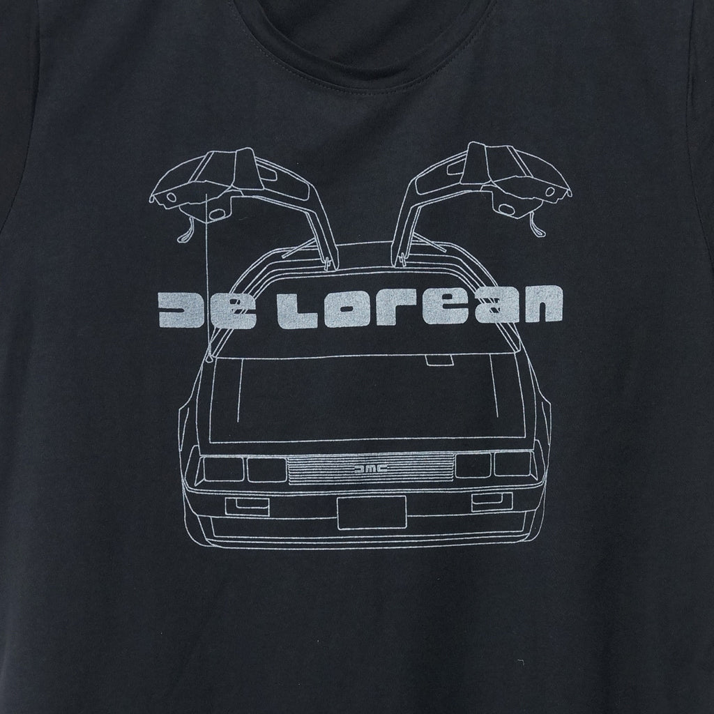 'De Lorean' T-shirt (black) | Goods of Desire