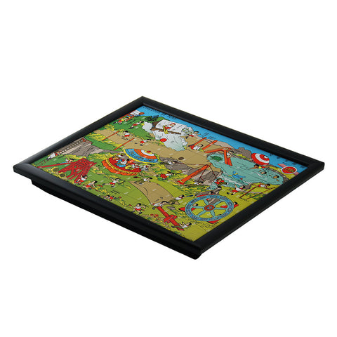 'Children at Play' lap tray - Goods of Desire
