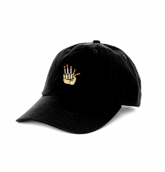 Carnaby Fair '5 Cigarettes' Dad Cap (Black)