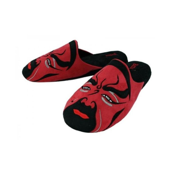 Betta 'Chinese Opera Man' slippers (red)