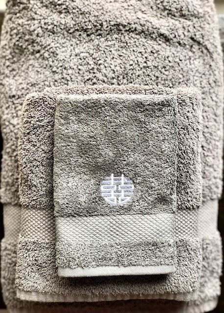 Hand Towel, Grey by Zest of Asia