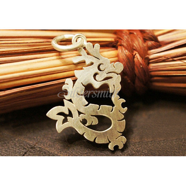 Chinese Zodiac Dragon Charm by Silversmith