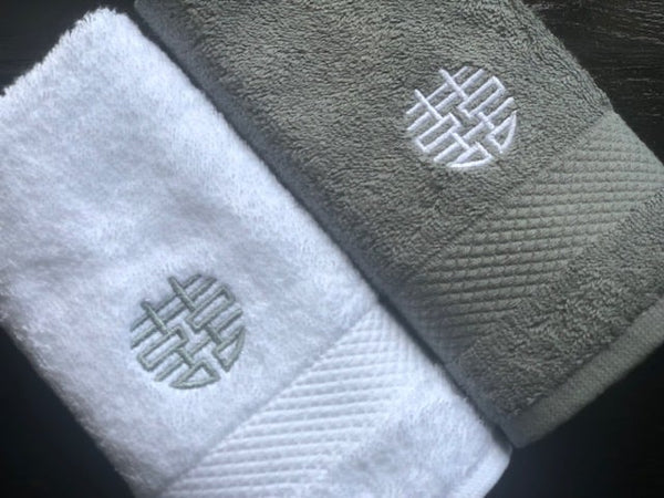 Face Towel, White by Zest of Asia