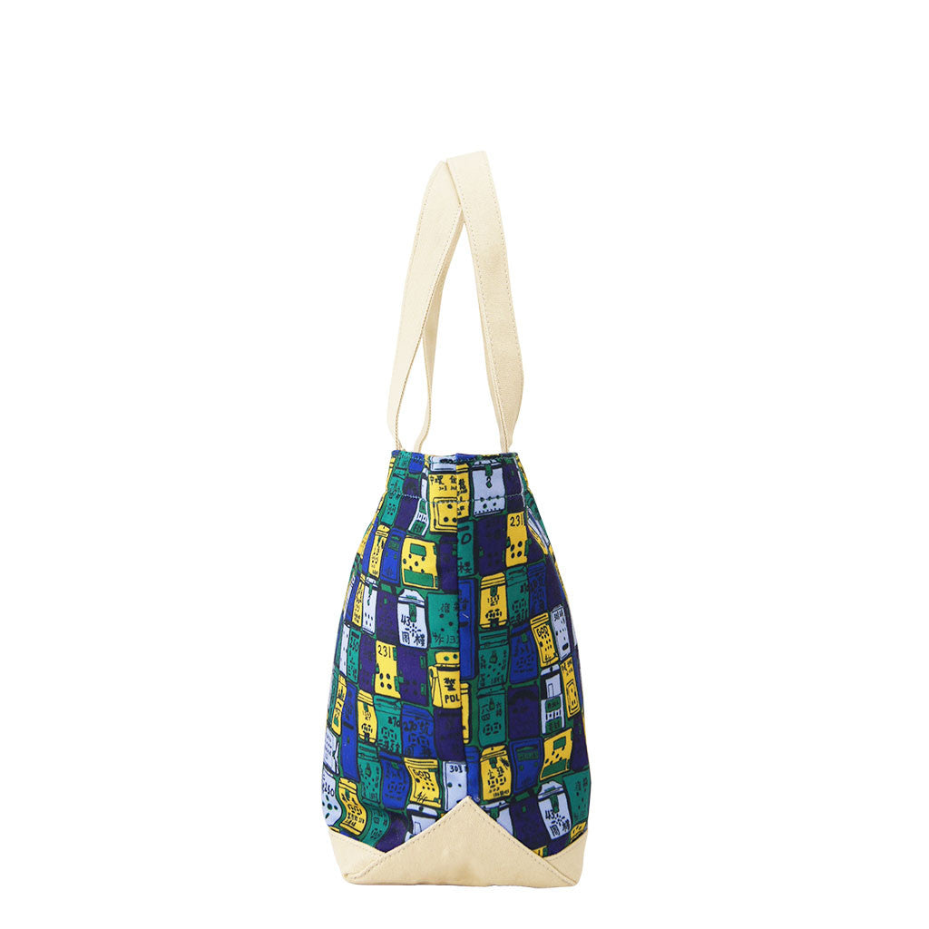 'Letterbox' canvas tote bag (small)