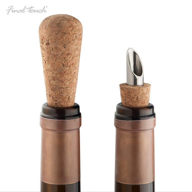 2-in-1 Cork and Pour Set by Final Touch