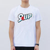 9up (Red Dot) Tee, White