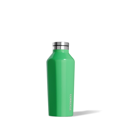 Corkcicle Classic Canteen 270ml, Gloss Caribbean Green