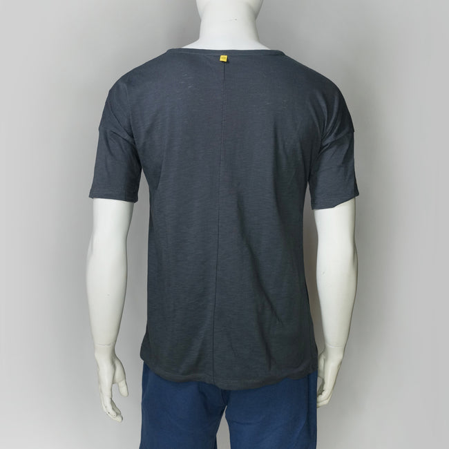 Modo Boon Classic Roundneck Chinese T-shirt (Dark grey)