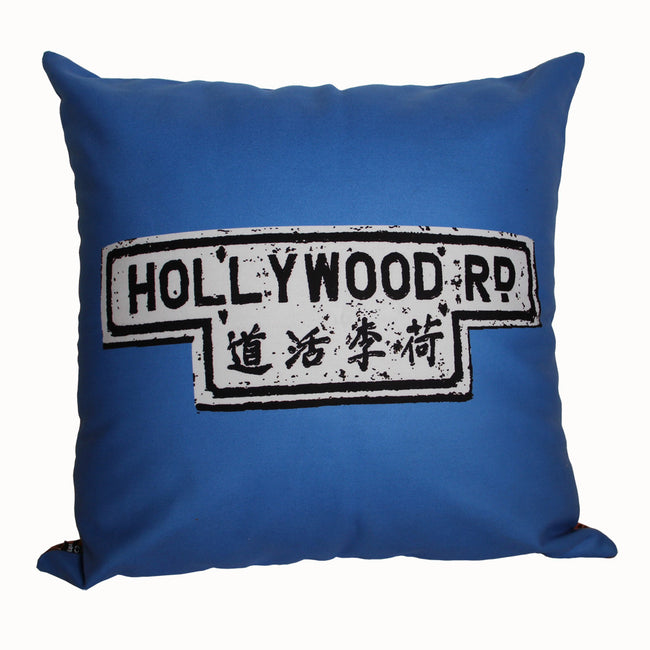 'Alex Croft x G.O.D. graffiti wall' cushion cover (45x45cm), Homeware, Goods of Desire, Goods of Desire