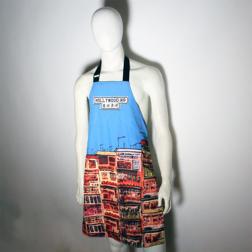 'Alex Croft x G.O.D. graffiti wall' apron