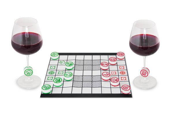 Animal Chess wine markers (set of 12)