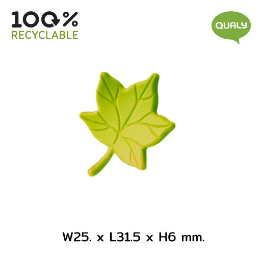 Qualy Leaf My Glass, Glass Tag