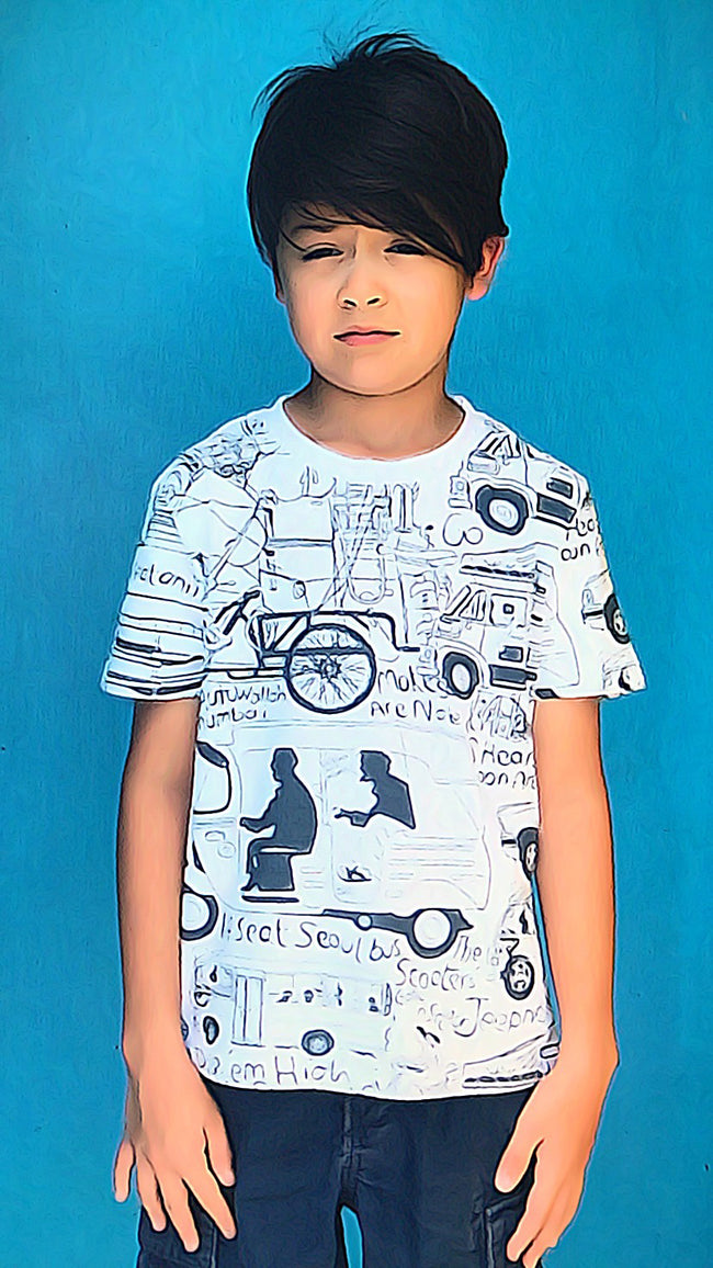 'Asian Jalopies' Kids T-shirt