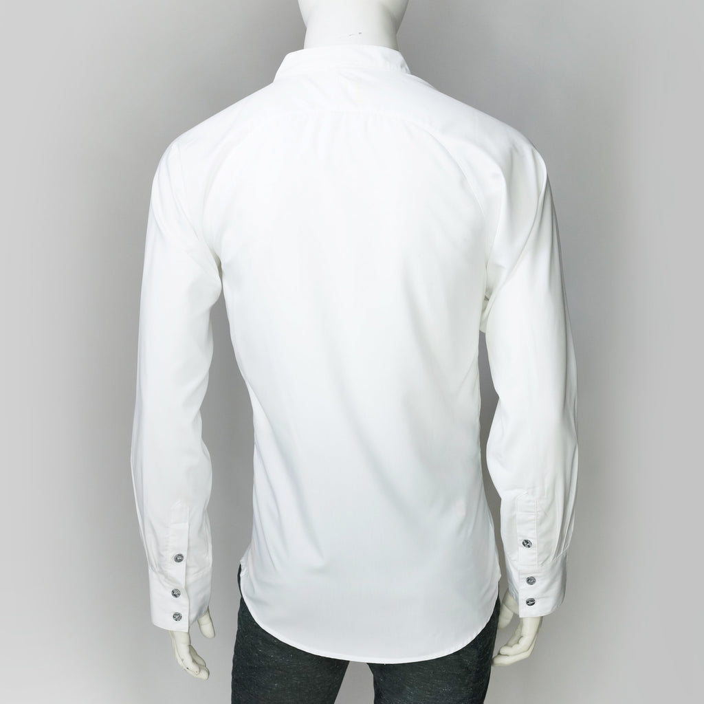 Modo Boon Mao Collar Shirt (White)