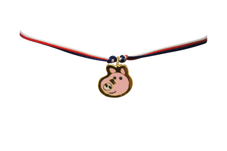 Silversmith Double Happiness Charm with Necklace