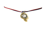 Gold Plated 12 Zodiac Cord Bracelet - Mouse