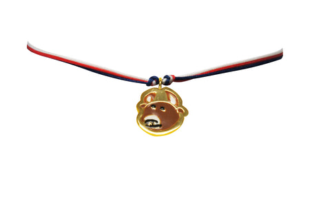Laughing Buddha (L) Charm by Silversmith