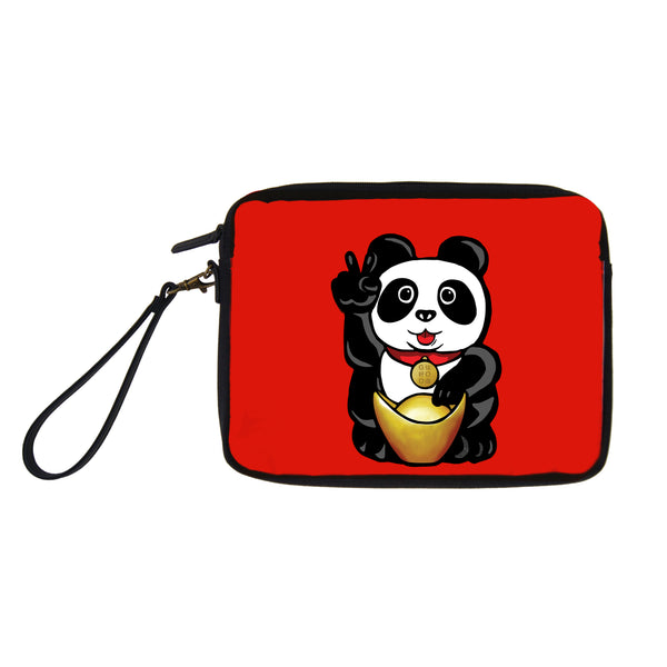 'Lucky Panda' travel pouch