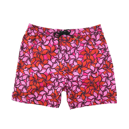 'Mosaic Hawkers' Board Shorts