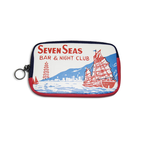 'Seven Seas' leather essential case