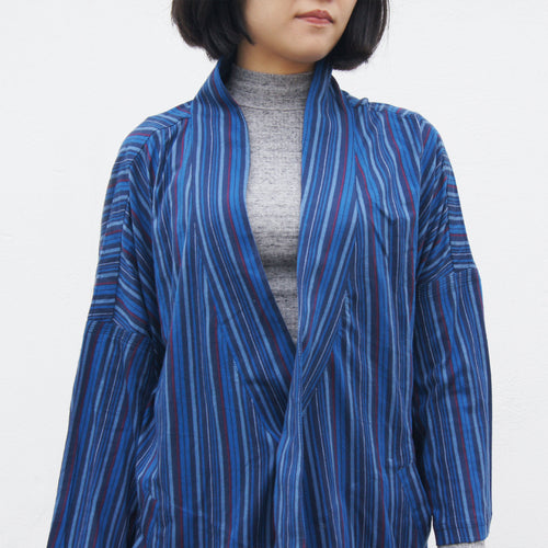 Ka Lok Lama Jacket (blue stripes)