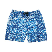 Load image into Gallery viewer, 'Blue Waves' Board Shorts