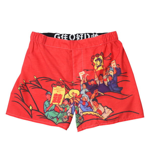 "'Mao's Bible"" Men's Boxer Shorts, Underwear, Goods of Desire, Goods of Desire"