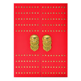 Jan China Forbidden City notebook Large - Red