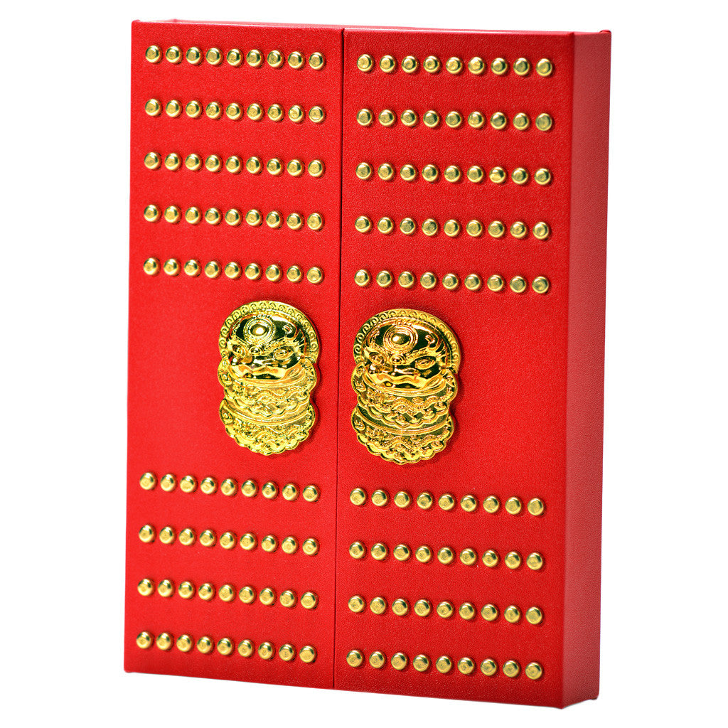 Jan China Forbidden City notebook small - Red