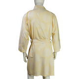 Chinese Brocade dressing gown (yellow)