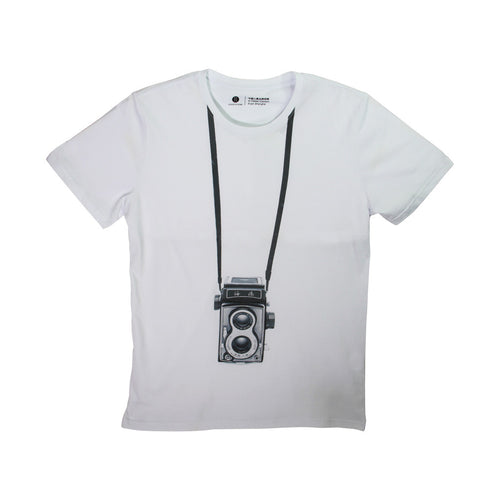 'Classic Shanghainese Camera' T-shirt with Pocket