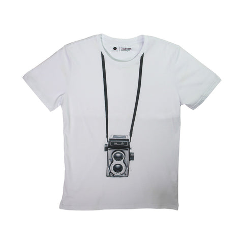 'A Classical Shanghainese Camera' tee with pocket