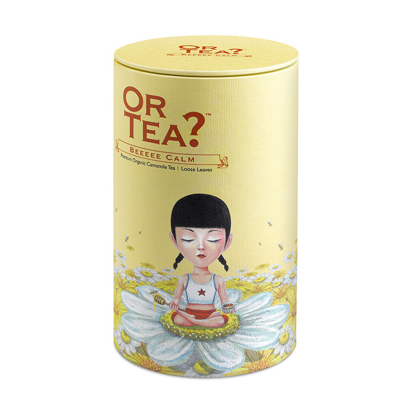 OR TEA Canister Beeeee Calm