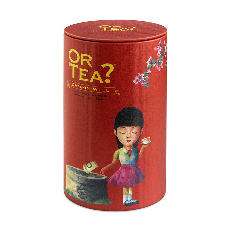 OR TEA Canister Dragon Well