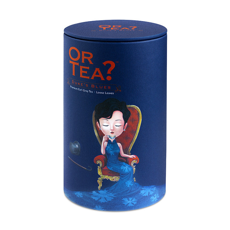 OR TEA Canister Duke's Blues