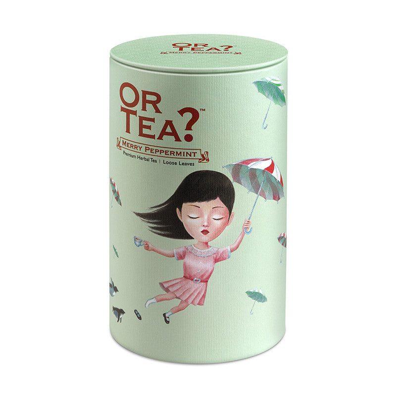 OR TEA Canister Merry Peppermint