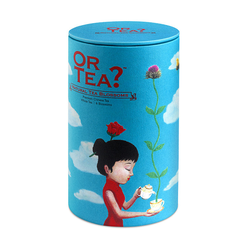 OR TEA Canister Natural Tea Blossoms