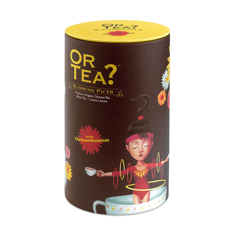 OR TEA Canister Slimming Pu'er