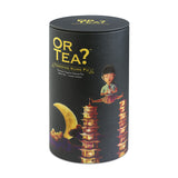 OR TEA Canister Towering Kung fu