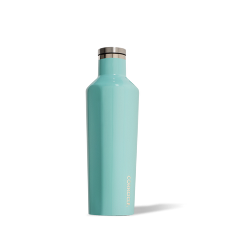 Corkcicle Waterman Canteen 750ml, Hawaiian Blue